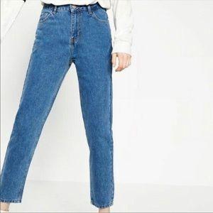 Zara Trafaluc Mom Jeans Super High Rise 2